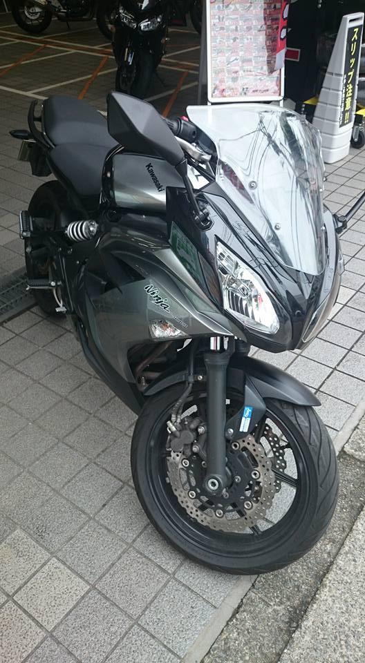 Ninja 400 レンタルバイク
