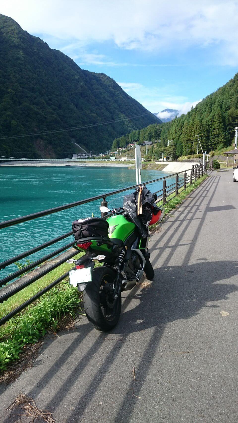 奈良田湖1