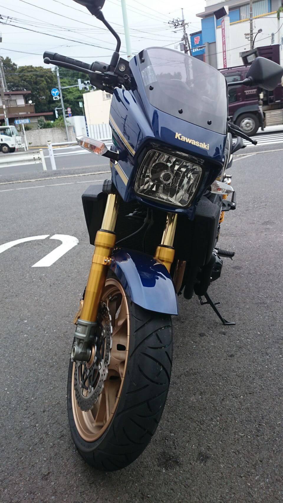 ZRX1200 DAEG front view