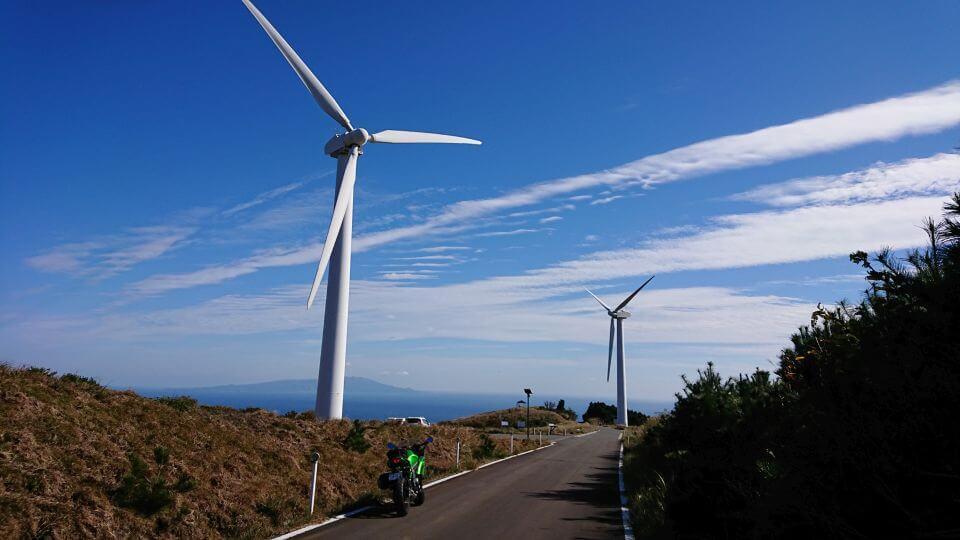 風車とNinja 650 その1
