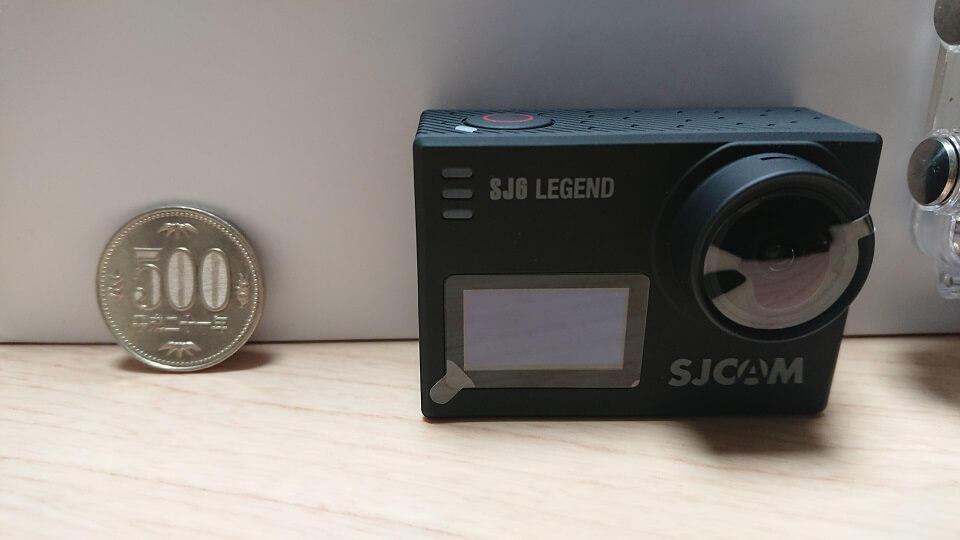 SJCAM SJ6 Legendの大きさ
