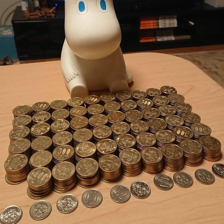500円貯金カウント
