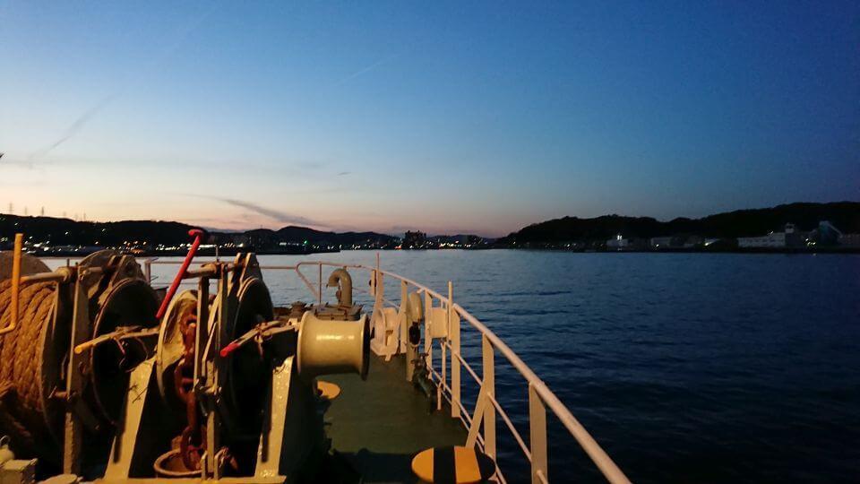東京湾フェリーで横須賀へ