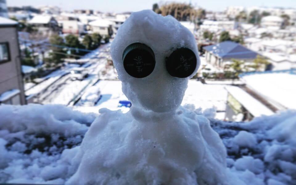 雪だるまミニ