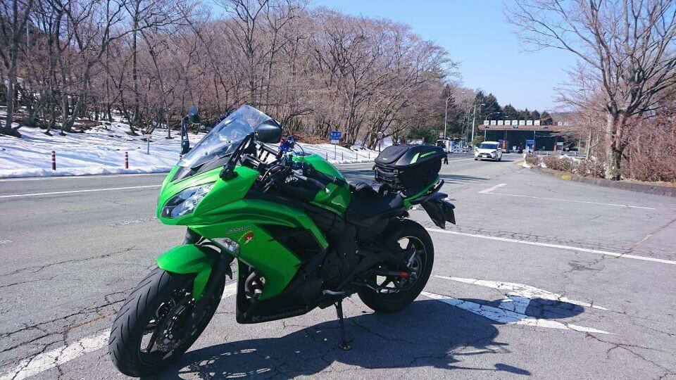 Ninja 650 天城高原