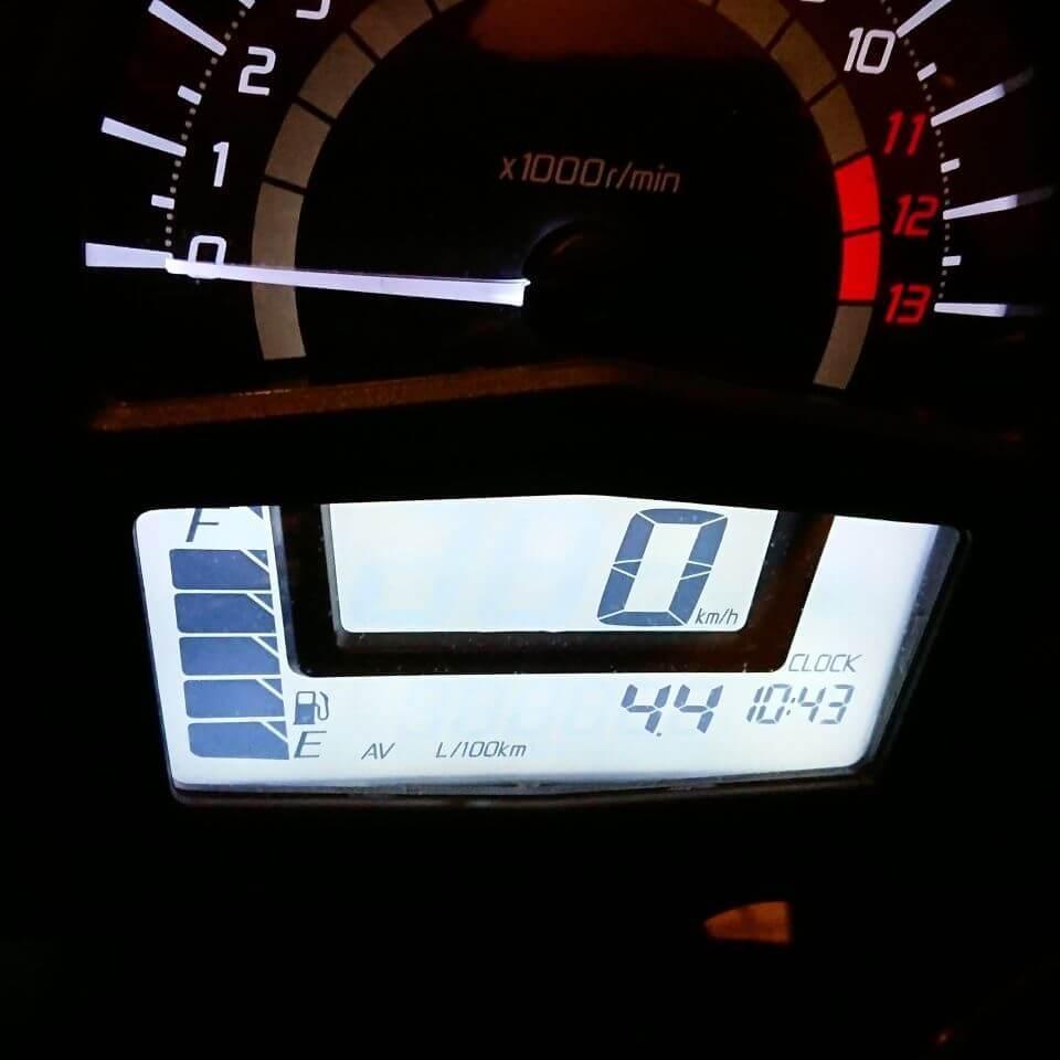 Ninja 650の燃費