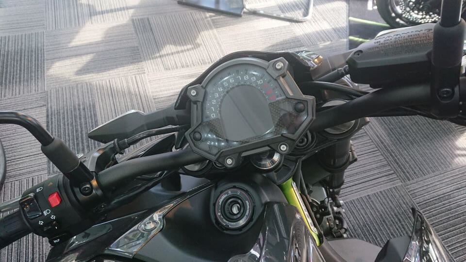 Z900のメーター