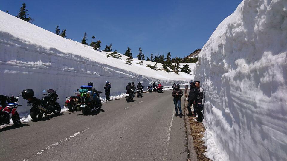 雪回廊の混雑